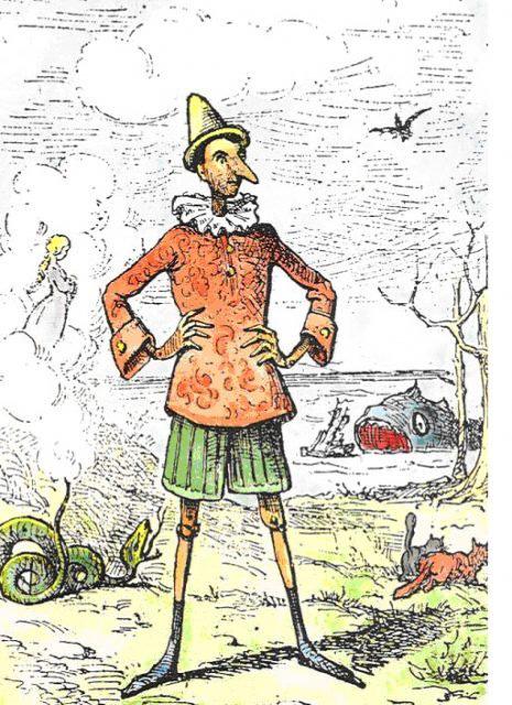 Nguyên bản không dành cho trẻ con của cậu bé người gỗ Pinocchio: Đứa trẻ sa vào tệ nạn xã hội và cái kết rợn người - Ảnh 2.