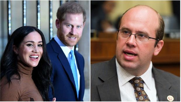Nhà Meghan Markle bị nghị sĩ Mỹ yêu cầu giữ im lặng nếu không muốn mất hết mọi thứ, Harry chuẩn bị đối mặt với Nữ hoàng Anh sau bê bối - Ảnh 2.