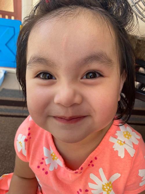Con gái 3 tuổi như bản sao lúc nhỏ của Y Phụng - Ảnh 6.