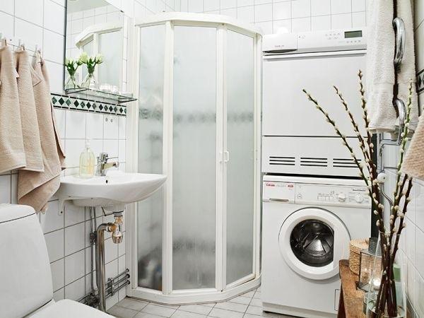 Đặt máy giặt trong phòng tắm cần lưu ý gì? - Ảnh 1.