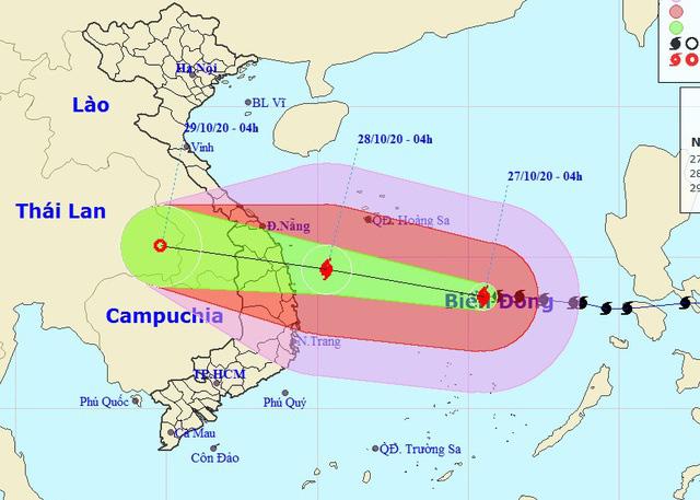 Ứng phó khẩn cấp cơn bão mạnh nhất trong năm theo phương châm 4 tại chỗ - Ảnh 2.