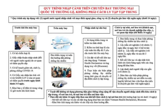 Người Việt bay từ nước ngoài về sẽ có quy trình cách ly COVID-19 như thế nào? - Ảnh 2.