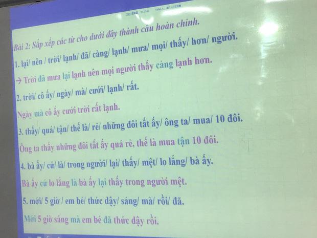 Bài tập hoàn thành câu Tiếng Việt siêu khó, đến người Việt cũng trầm cảm vì sai tới 90% - Ảnh 2.