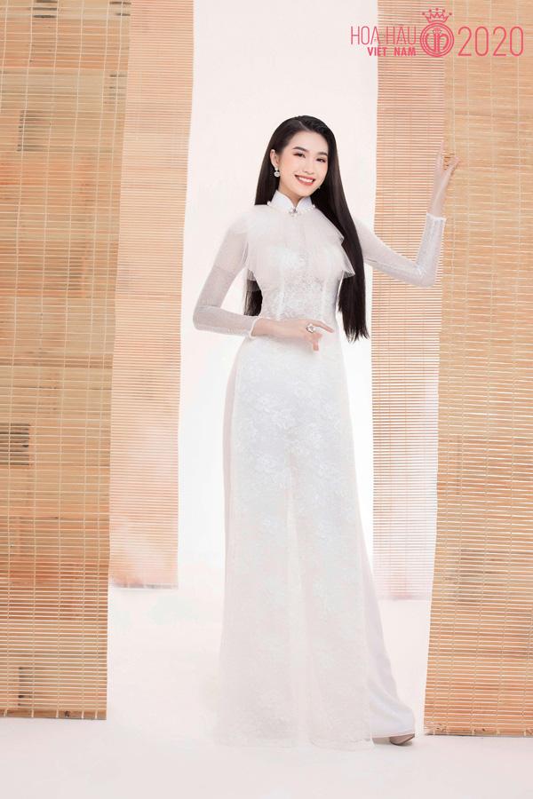 Nhan sắc người đẹp Hoa hậu Việt Nam 2020 vướng tin đồn hẹn hò với cầu thủ Đoàn Văn Hậu - Ảnh 2.
