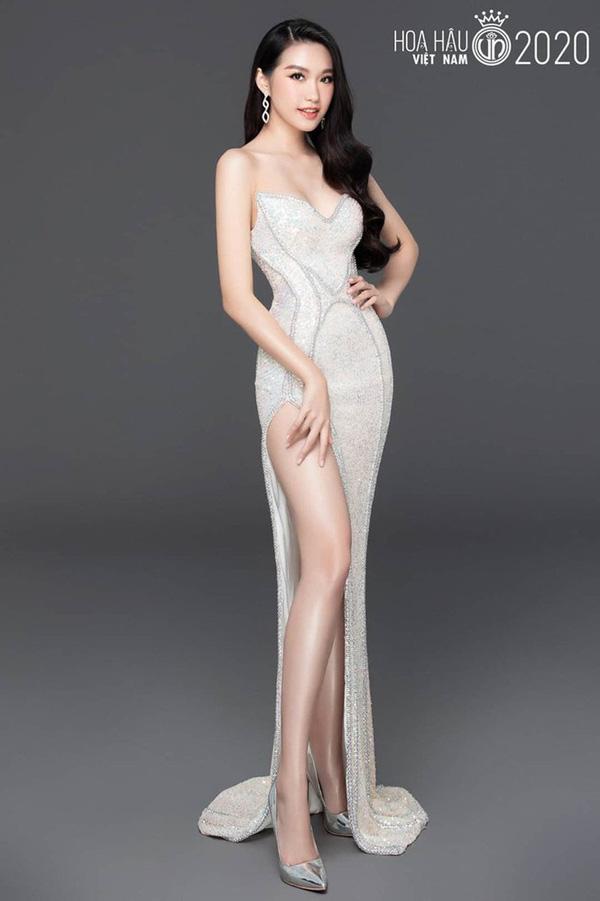 Nhan sắc người đẹp Hoa hậu Việt Nam 2020 vướng tin đồn hẹn hò với cầu thủ Đoàn Văn Hậu - Ảnh 5.