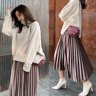 3 cách phối áo len chất lừ mùa thu đông 2020, những cô nàng quê mùa nhất cũng có thể dễ dàng thực hiện thành thạo - Ảnh 14.