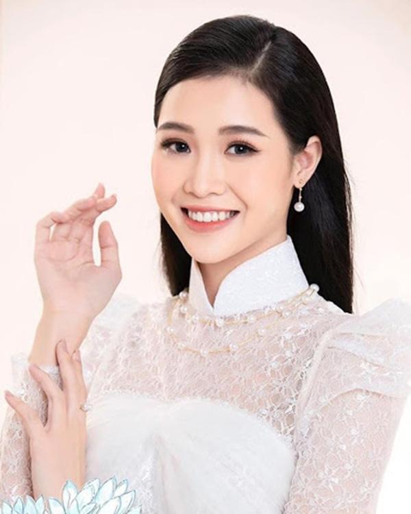 Nữ sinh 20 tuổi, eo nhỏ nhất 58cm vào chung kết Hoa hậu VN 2020 - Ảnh 2.