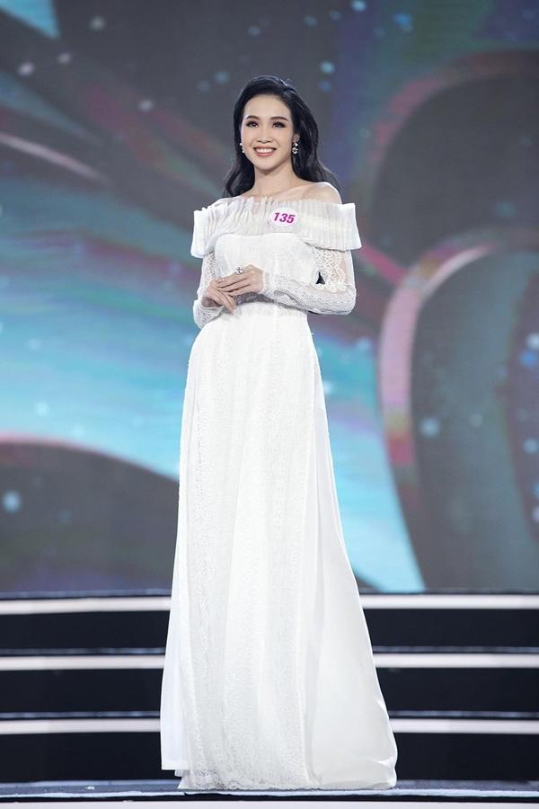 Nữ sinh 20 tuổi, eo nhỏ nhất 58cm vào chung kết Hoa hậu VN 2020 - Ảnh 4.