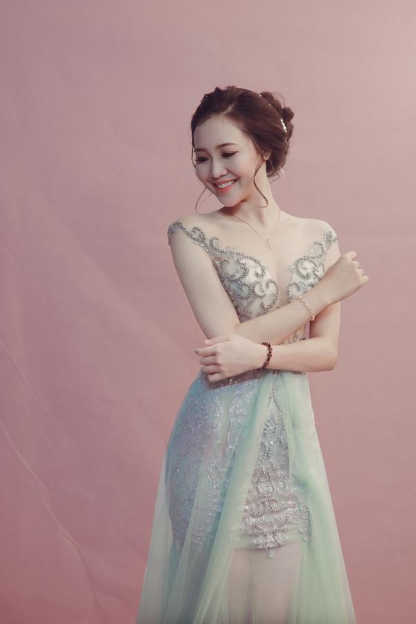 Nữ sinh 20 tuổi, eo nhỏ nhất 58cm vào chung kết Hoa hậu VN 2020 - Ảnh 6.