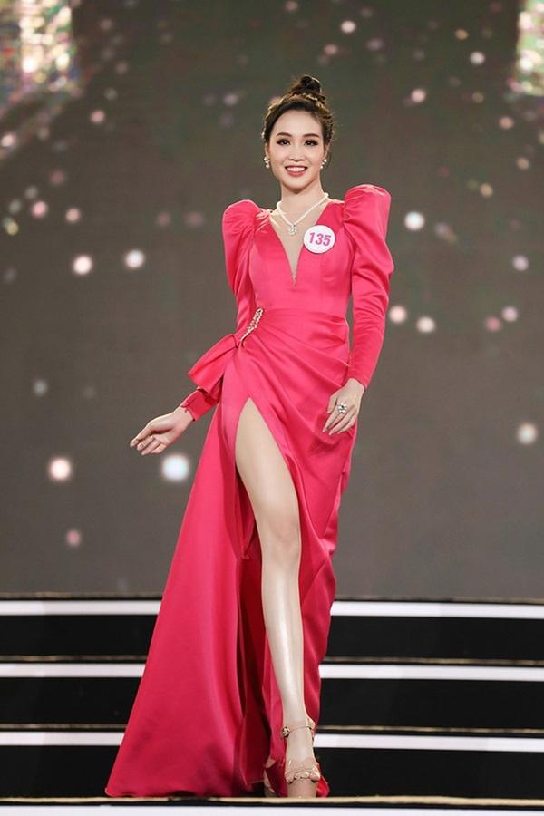 Nữ sinh 20 tuổi, eo nhỏ nhất 58cm vào chung kết Hoa hậu VN 2020 - Ảnh 7.