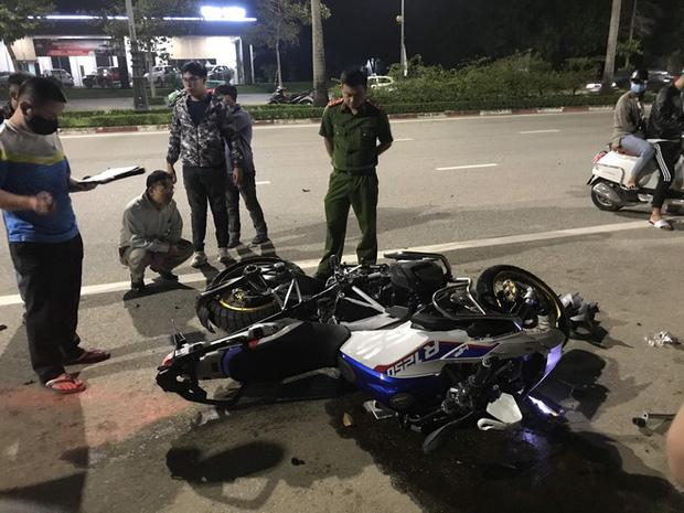 Xe phân khối lớn chạy tốc độ kinh hoàng đâm vào xe máy khiến 3 người thương vong - Ảnh 4.