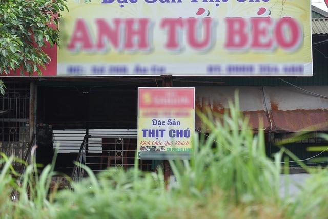 Thủ phủ thịt chó Nhật Tân – nơi khách ăn nhậu cả ngày lẫn đêm giờ ra sao? - Ảnh 4.