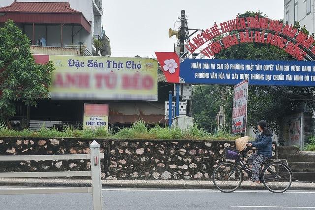 Thủ phủ thịt chó Nhật Tân – nơi khách ăn nhậu cả ngày lẫn đêm giờ ra sao? - Ảnh 9.