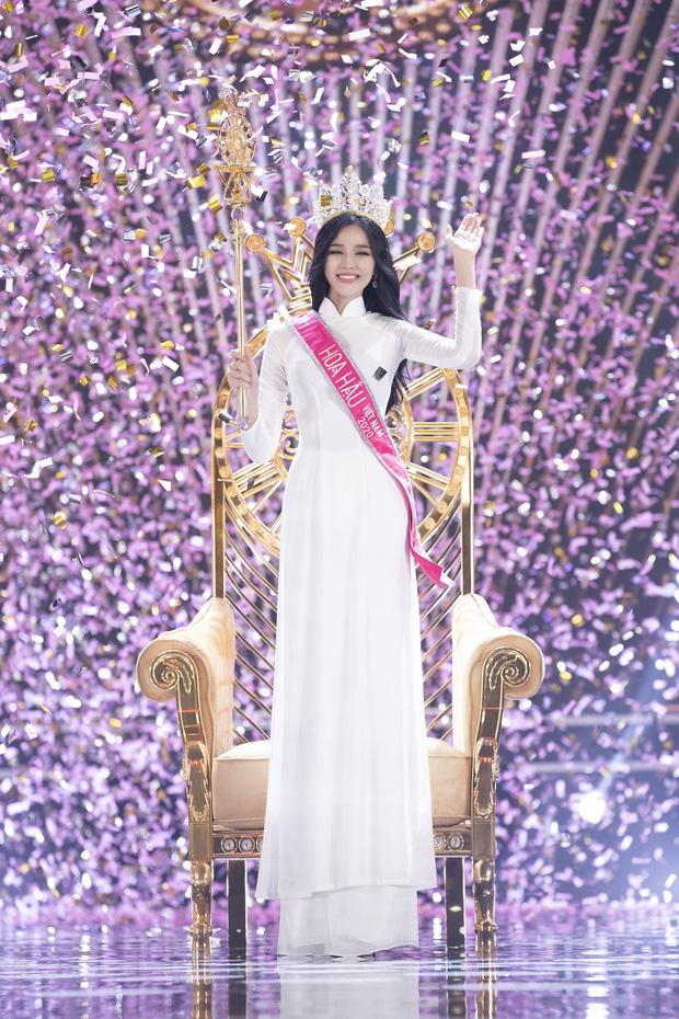 Nhan sắc mộc mạc và nụ cười hút hồn của Tân Hoa hậu Việt Nam 2020 - Ảnh 1.