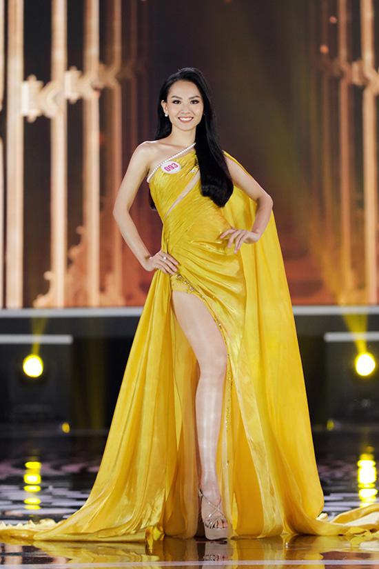 Thí sinh Hoa hậu Việt Nam 2020 lộng lẫy với đầm dạ hội - Ảnh 6.