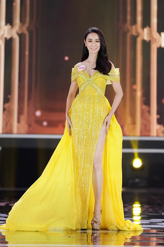 Thí sinh Hoa hậu Việt Nam 2020 lộng lẫy với đầm dạ hội - Ảnh 7.