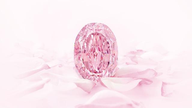 """Viên kim cương hồng tím """"cực hiếm"""" được bán với giá hơn 600 tỷ đồng - Ảnh 2."""