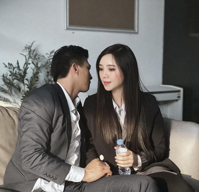 Quỳnh Kool lộ ảnh thân mật với Hà Việt Dũng trong phim mới - Ảnh 3.