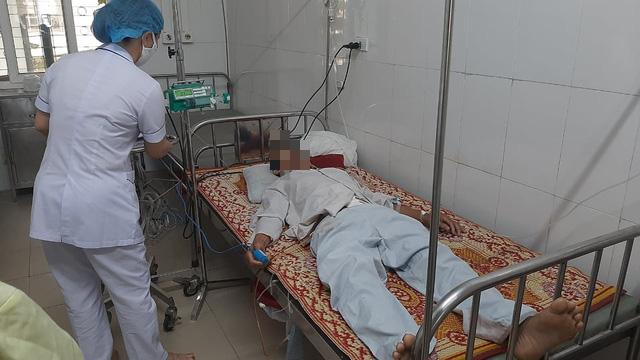 Bệnh viện tuyến huyện ở Hà Tĩnh cứu sống bệnh nhân bị dính ruột - Ảnh 1.