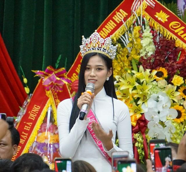 Tân Hoa hậu Việt Nam Đỗ Thị Hà: Tôi cũng chỉ là một cô gái bình thường - Ảnh 3.