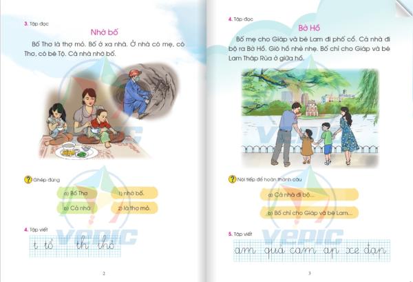 Chính thức phê duyệt những điều chỉnh trong sách Tiếng Việt lớp 1 bộ sách Cánh Diều - Ảnh 3.