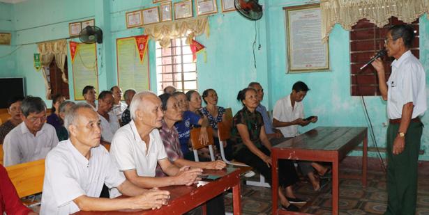 Báo động tốc độ già hóa dân số của Hà Tĩnh - Ảnh 2.