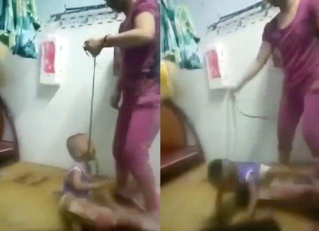 Xác minh thông tin bé trai bị mẹ cột dây vào cổ, bạo hành dã man  - Ảnh 2.