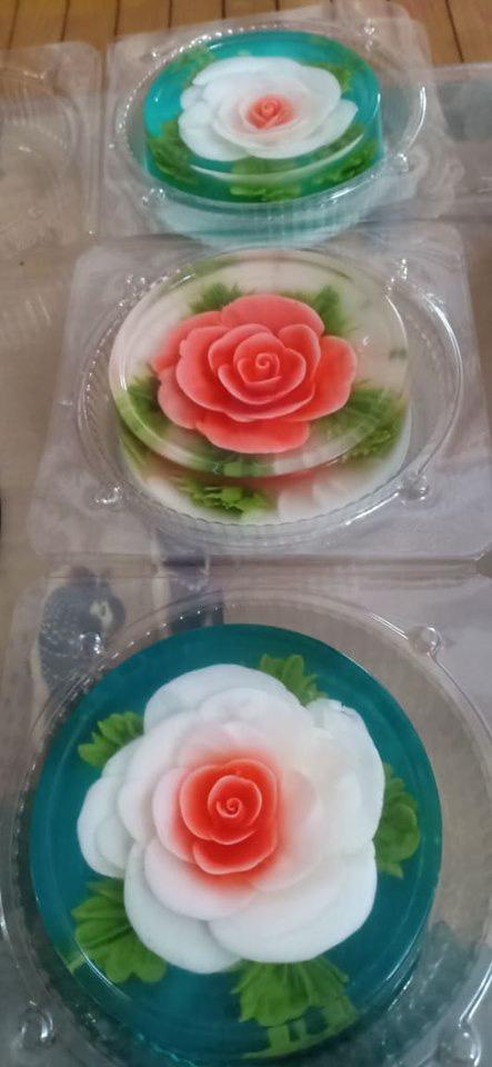 Ăn bánh thạch 3D hoa hồng cho ngày lễ Tình nhân năm nay - Ảnh 21.