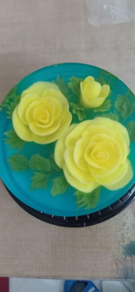 Ăn bánh thạch 3D hoa hồng cho ngày lễ Tình nhân năm nay - Ảnh 6.