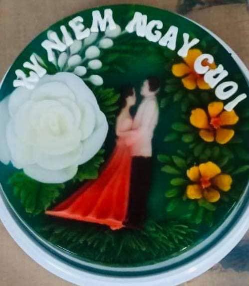 Ăn bánh thạch 3D hoa hồng cho ngày lễ Tình nhân năm nay - Ảnh 13.
