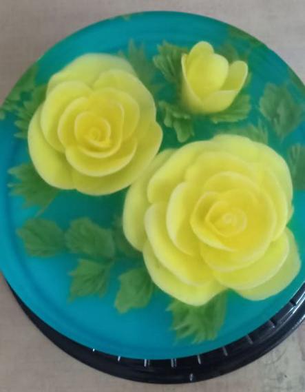 Ăn bánh thạch 3D hoa hồng cho ngày lễ Tình nhân năm nay - Ảnh 10.