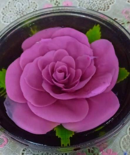 Ăn bánh thạch 3D hoa hồng cho ngày lễ Tình nhân năm nay - Ảnh 7.