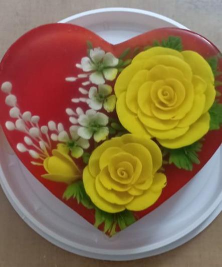 Ăn bánh thạch 3D hoa hồng cho ngày lễ Tình nhân năm nay - Ảnh 8.