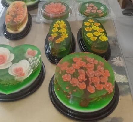 Ăn bánh thạch 3D hoa hồng cho ngày lễ Tình nhân năm nay - Ảnh 15.