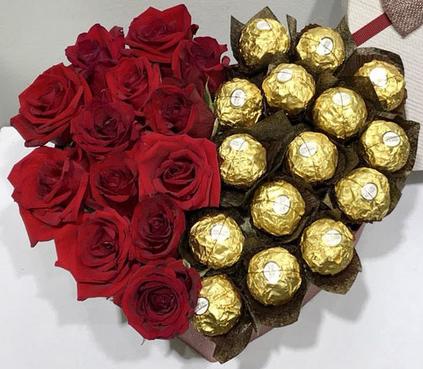 Mãn nhãn với những bó hoa độc, lạ trong ngày Valentine - Ảnh 4.
