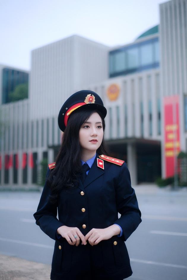 Ngắm vẻ đẹp lấp lánh của hot girl Đại học Kiểm sát Hà Nội - Ảnh 6.