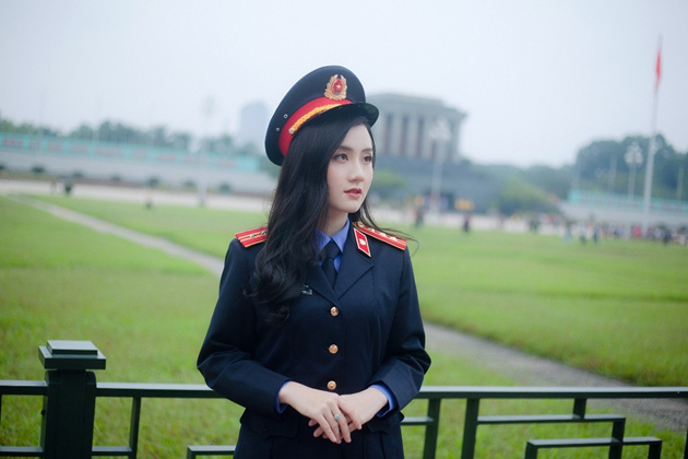 Ngắm vẻ đẹp lấp lánh của hot girl Đại học Kiểm sát Hà Nội - Ảnh 8.