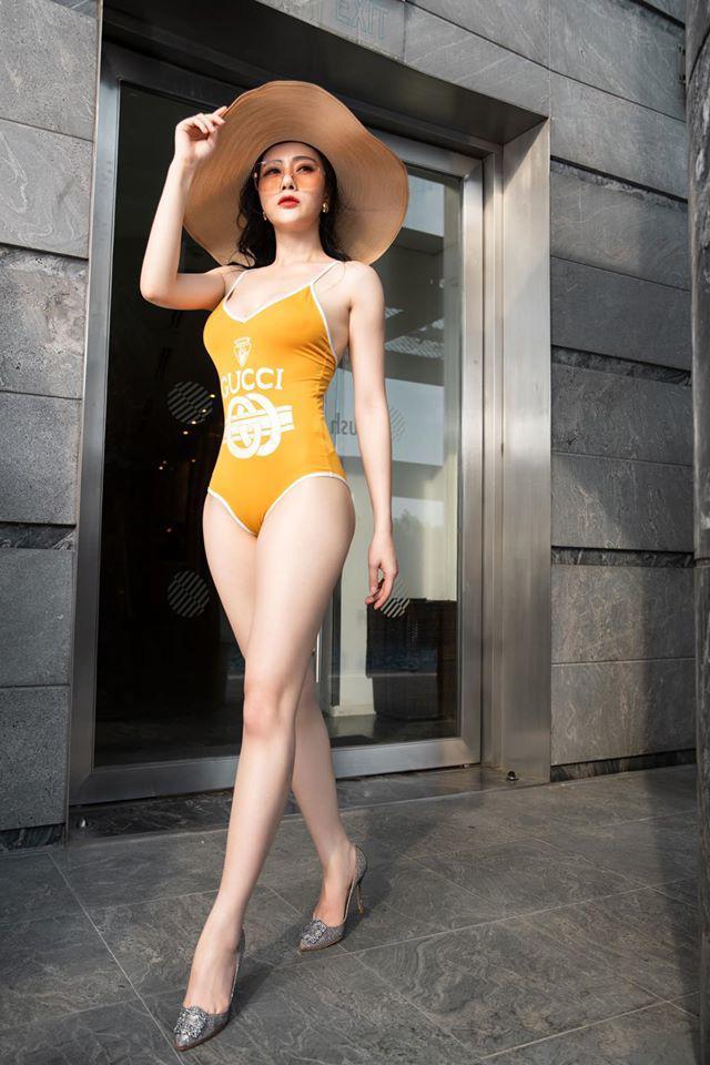 Phương Oanh Quỳnh búp bê số đo chuẩn hoa hậu, đường cong nóng rực - Ảnh 12.
