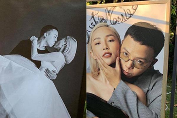 Ảnh cưới hiếm hoi của Tóc Tiên và Hoàng Touliver - Ảnh 3.