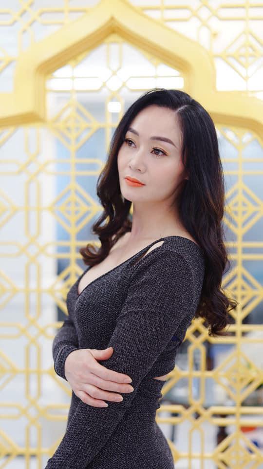 Nhan sắc Quách Thu Phương sau nhiều năm vắng bóng phim truyền hình - Ảnh 10.