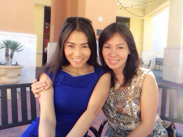 Chị gái Việt kiều hơn 8 tuổi trẻ như sinh đôi với Thu Minh  - Ảnh 4.