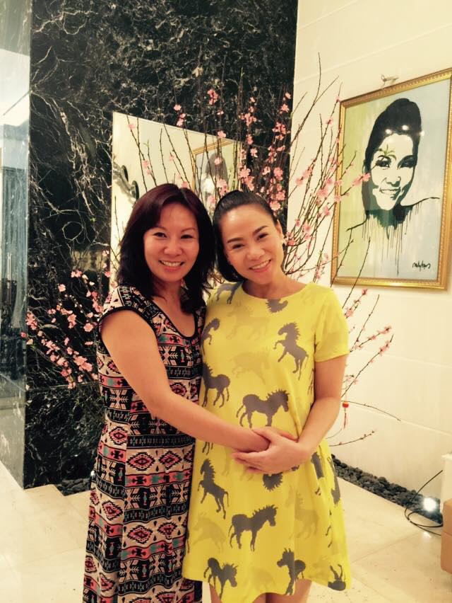 Chị gái Việt kiều hơn 8 tuổi trẻ như sinh đôi với Thu Minh  - Ảnh 6.