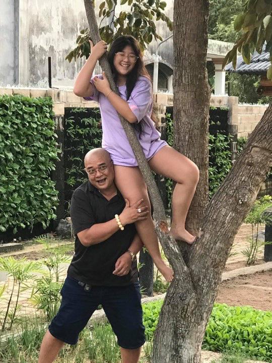 Vợ chồng Hồng Vân - Lê Tuấn Anh vui chơi tại gia trang Vũng Tàu - Ảnh 3.