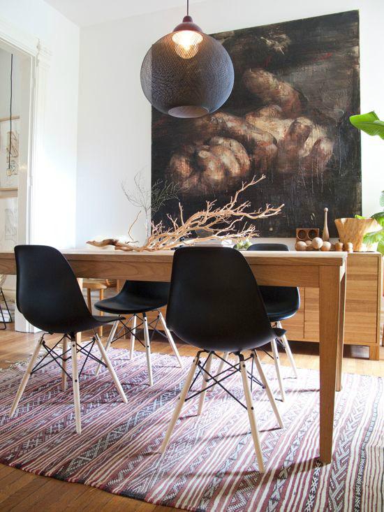 Những ý tưởng tạo vẻ đẹp thời thượng cho phòng ăn bằng bí quyết kết hợp nội thất - Ảnh 4.