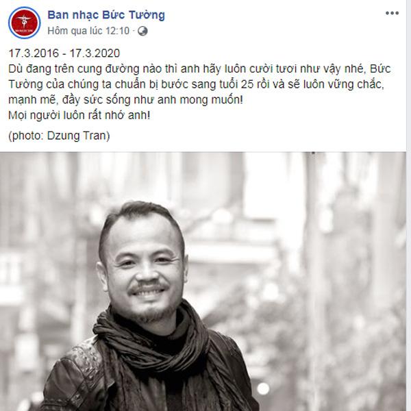 4 năm ngày mất nhạc sĩ Trần Lập, ca sĩ Bảo Anh viết Thủ lĩnh Bức Tường vẫn đây - Ảnh 2.