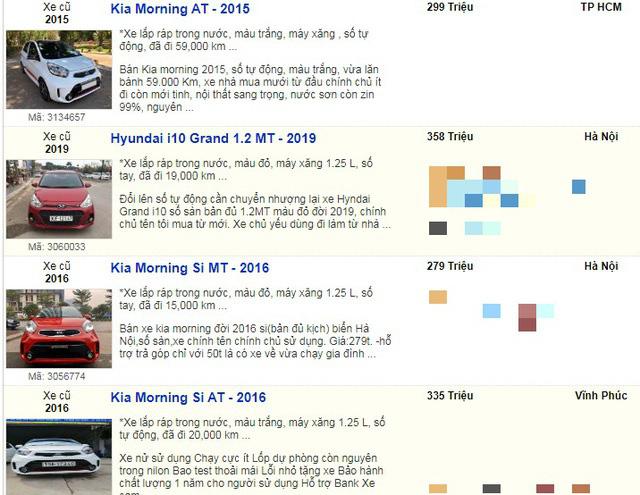 Nhiều mẫu xe cũ đồng loạt hạ giá xuống dưới 400 triệu đồng vì quá ế  - Ảnh 7.