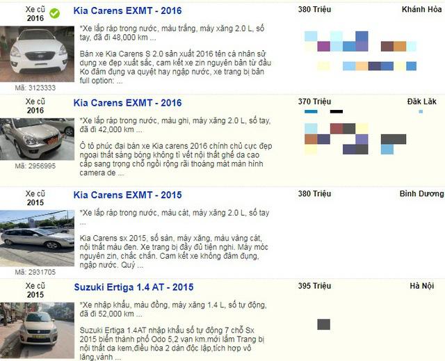 Nhiều mẫu xe cũ đồng loạt hạ giá xuống dưới 400 triệu đồng vì quá ế  - Ảnh 8.