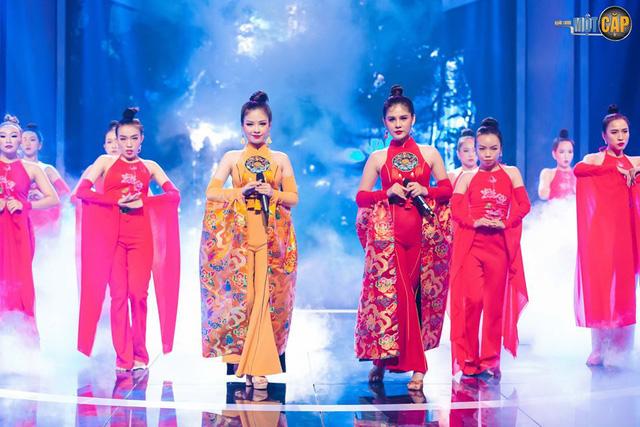 Trời sinh một cặp: MC Thu Hoài nhận điểm 10 từ giám khảo với mashup Bánh trôi nước - Túy âm - Ảnh 3.