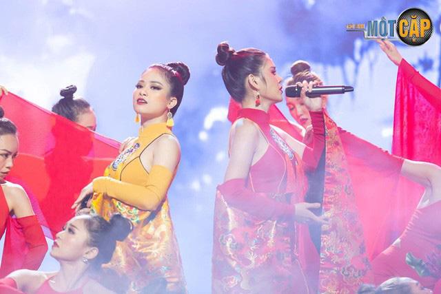 Trời sinh một cặp: MC Thu Hoài nhận điểm 10 từ giám khảo với mashup Bánh trôi nước - Túy âm - Ảnh 5.
