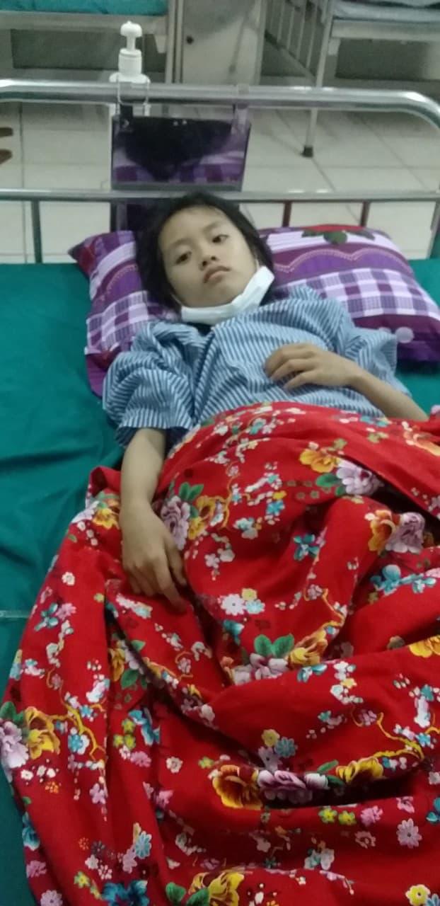 Xót xa bé 9 tuổi bị bệnh tim, bố mẹ bỏ đi sống nhờ ông bà, giờ ông lại bị ung thư - Ảnh 4.